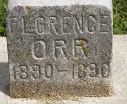 ORR, FLORENCE - Marion County, Ohio | FLORENCE ORR - Ohio Gravestone Photos