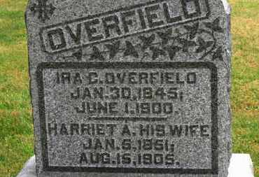 OVERFIELD, IRA C. - Marion County, Ohio   IRA C. OVERFIELD - Ohio Gravestone Photos