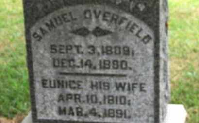 OVERFIELD, EUNICE - Marion County, Ohio | EUNICE OVERFIELD - Ohio Gravestone Photos