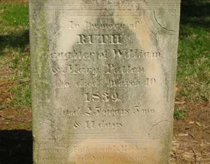 PATTEN, WILLIAM - Marion County, Ohio | WILLIAM PATTEN - Ohio Gravestone Photos