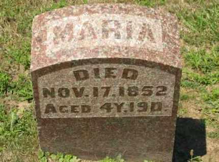 PFEIFER, MARIA - Marion County, Ohio | MARIA PFEIFER - Ohio Gravestone Photos