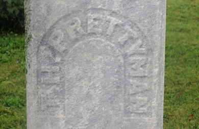 PRETTYMAN, T.H. - Marion County, Ohio   T.H. PRETTYMAN - Ohio Gravestone Photos