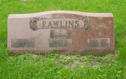 RAWLINS, MARY ELIZABETH - Marion County, Ohio | MARY ELIZABETH RAWLINS - Ohio Gravestone Photos