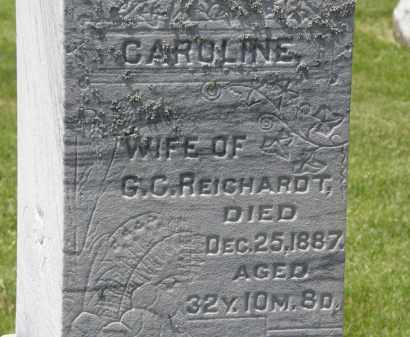 REICHARDT, G.C. - Marion County, Ohio | G.C. REICHARDT - Ohio Gravestone Photos