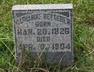 RETTERER, CATHARINE - Marion County, Ohio | CATHARINE RETTERER - Ohio Gravestone Photos
