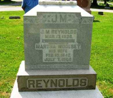 REYNOLDS, JAMES M. - Marion County, Ohio | JAMES M. REYNOLDS - Ohio Gravestone Photos