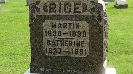 RICE, MARTIN - Marion County, Ohio | MARTIN RICE - Ohio Gravestone Photos