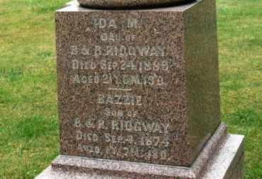 RIDGWAY, IDA M. - Marion County, Ohio | IDA M. RIDGWAY - Ohio Gravestone Photos