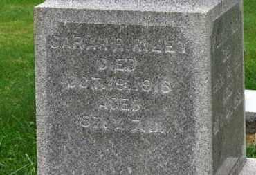 RILEY, SARAH R. - Marion County, Ohio | SARAH R. RILEY - Ohio Gravestone Photos