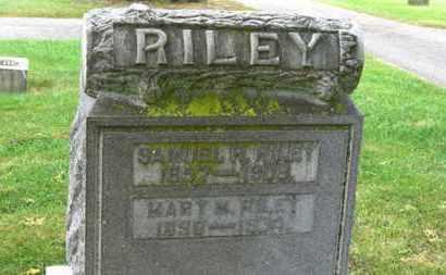 RILEY, SAMUEL  R. - Marion County, Ohio | SAMUEL  R. RILEY - Ohio Gravestone Photos