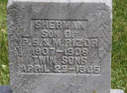 RIZOR, TWIN SONS - Marion County, Ohio | TWIN SONS RIZOR - Ohio Gravestone Photos