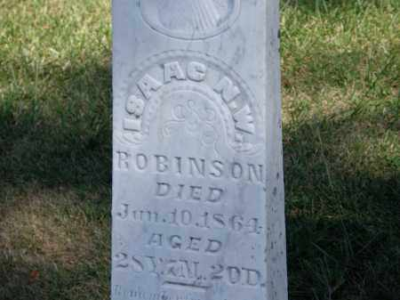 ROBINSON, ISAAC N. W. - Marion County, Ohio   ISAAC N. W. ROBINSON - Ohio Gravestone Photos