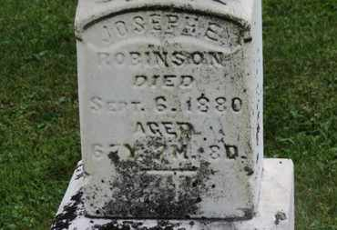 ROBINSON, JOSEPH E. - Marion County, Ohio | JOSEPH E. ROBINSON - Ohio Gravestone Photos