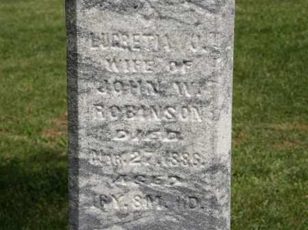 ROBINSON, LUCRETIA - Marion County, Ohio | LUCRETIA ROBINSON - Ohio Gravestone Photos