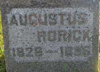 RORICK, AUGUSTUS - Marion County, Ohio   AUGUSTUS RORICK - Ohio Gravestone Photos