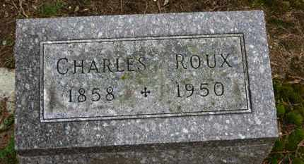 ROUX, CHARLES - Marion County, Ohio | CHARLES ROUX - Ohio Gravestone Photos