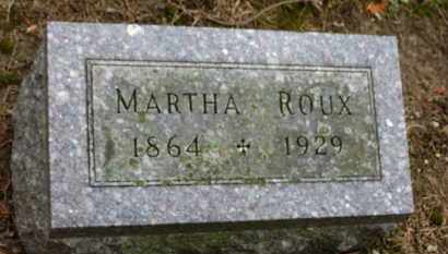 ROUX, MARTHA - Marion County, Ohio | MARTHA ROUX - Ohio Gravestone Photos