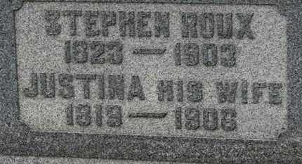 ROUX, STEPHEN - Marion County, Ohio | STEPHEN ROUX - Ohio Gravestone Photos