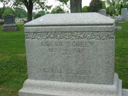 SCOBEY, GIDEON - Marion County, Ohio | GIDEON SCOBEY - Ohio Gravestone Photos