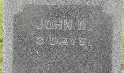 SCOTT, JOHN N. - Marion County, Ohio   JOHN N. SCOTT - Ohio Gravestone Photos