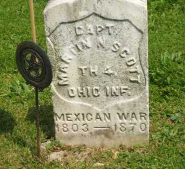 SCOTT, MARTIN N. - Marion County, Ohio | MARTIN N. SCOTT - Ohio Gravestone Photos