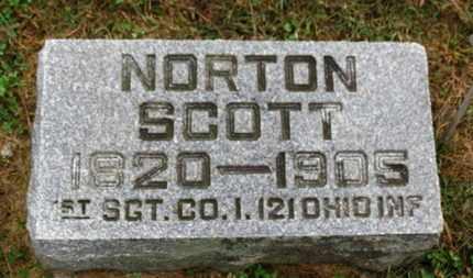 SCOTT, NORTON - Marion County, Ohio   NORTON SCOTT - Ohio Gravestone Photos