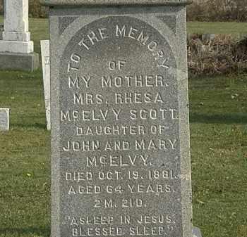 MCELVY, JOHN - Marion County, Ohio | JOHN MCELVY - Ohio Gravestone Photos