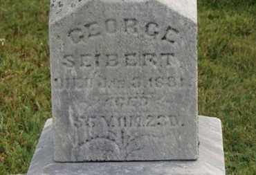 SEIBERT, GEORGE - Marion County, Ohio | GEORGE SEIBERT - Ohio Gravestone Photos