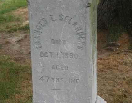 SELANDERS, FRANCIS E - Marion County, Ohio   FRANCIS E SELANDERS - Ohio Gravestone Photos