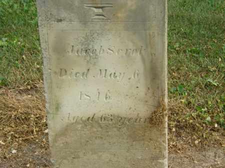 SEROL, JACOB - Marion County, Ohio   JACOB SEROL - Ohio Gravestone Photos