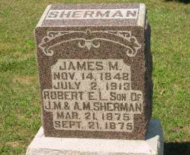 SHERMAN, A.M. - Marion County, Ohio | A.M. SHERMAN - Ohio Gravestone Photos