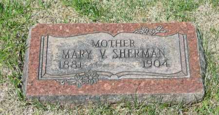 SHERMAN, MARY V. - Marion County, Ohio | MARY V. SHERMAN - Ohio Gravestone Photos