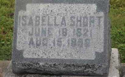 SHORT, ISABELLA - Marion County, Ohio | ISABELLA SHORT - Ohio Gravestone Photos