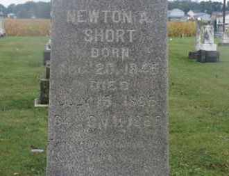 SHORT, NEWTON A. - Marion County, Ohio | NEWTON A. SHORT - Ohio Gravestone Photos