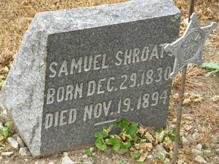 SHROATS, SAMUEL - Marion County, Ohio | SAMUEL SHROATS - Ohio Gravestone Photos
