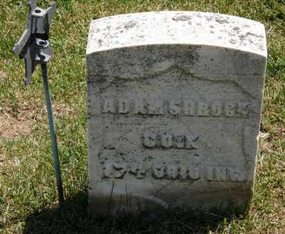 SHROCK, ADAM - Marion County, Ohio | ADAM SHROCK - Ohio Gravestone Photos