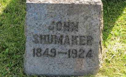 SHUMAKER, JOHN - Marion County, Ohio   JOHN SHUMAKER - Ohio Gravestone Photos