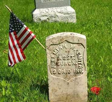 SMITH, JEREMIAH W. - Marion County, Ohio   JEREMIAH W. SMITH - Ohio Gravestone Photos