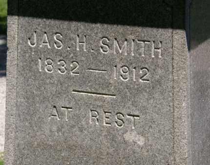 SMITH, JAS. H. - Marion County, Ohio   JAS. H. SMITH - Ohio Gravestone Photos