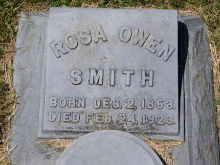 SMITH, ROSA OWEN - Marion County, Ohio | ROSA OWEN SMITH - Ohio Gravestone Photos