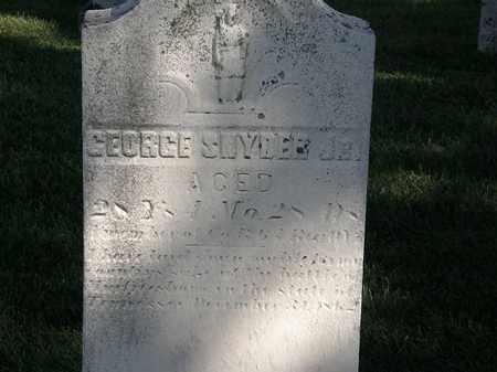 SNYDER JR., GEORGE - Marion County, Ohio | GEORGE SNYDER JR. - Ohio Gravestone Photos