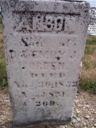 SORDEN, ANSON - Marion County, Ohio   ANSON SORDEN - Ohio Gravestone Photos