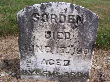 SORDEN, MILLIE - Marion County, Ohio   MILLIE SORDEN - Ohio Gravestone Photos