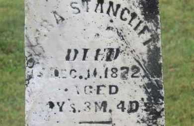 STANCLIFT, EZRA - Marion County, Ohio   EZRA STANCLIFT - Ohio Gravestone Photos