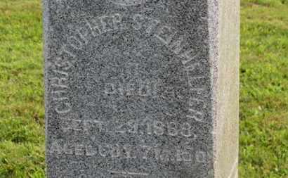 STEINHELFER, CHRISTOPHER - Marion County, Ohio | CHRISTOPHER STEINHELFER - Ohio Gravestone Photos