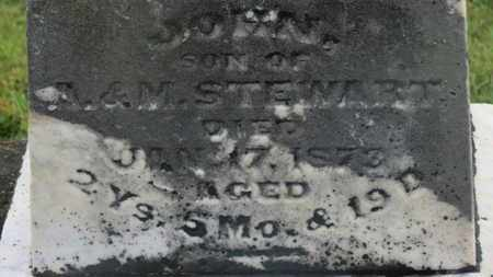 STEWART, A. - Marion County, Ohio | A. STEWART - Ohio Gravestone Photos