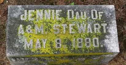 STEWART, JENNIE - Marion County, Ohio | JENNIE STEWART - Ohio Gravestone Photos