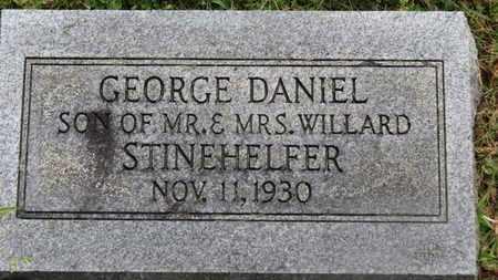 STINEHELFER, GEORGE DANIEL - Marion County, Ohio   GEORGE DANIEL STINEHELFER - Ohio Gravestone Photos