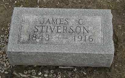 STIVERSON, JAMES C. - Marion County, Ohio | JAMES C. STIVERSON - Ohio Gravestone Photos