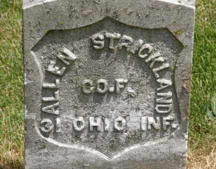 STRICKLAND, ALLEN - Marion County, Ohio | ALLEN STRICKLAND - Ohio Gravestone Photos